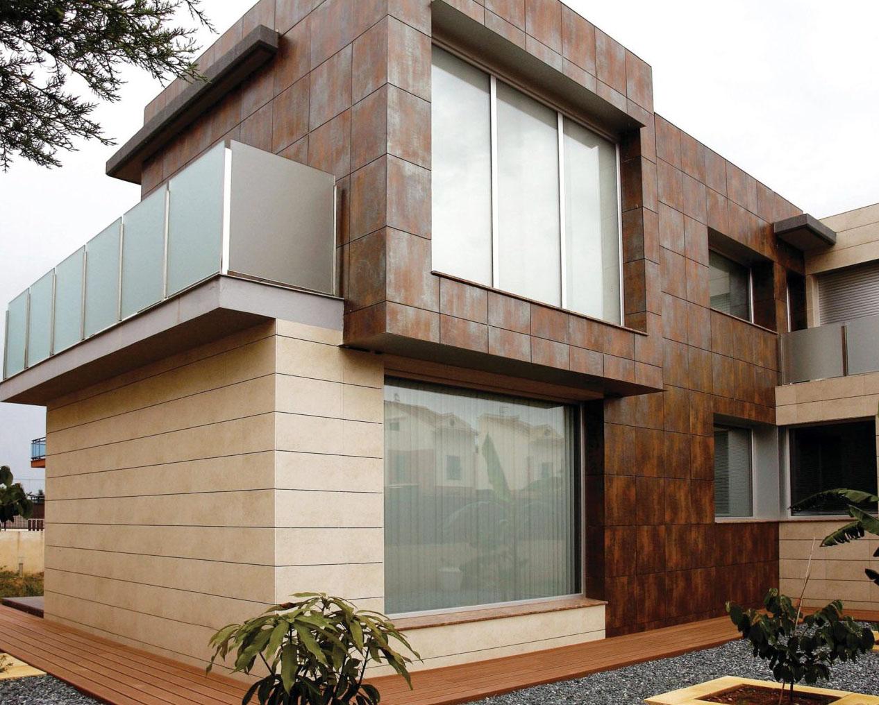 фото домов с отделкой вентилируемого фасада камнем необходимо обсушить влаги